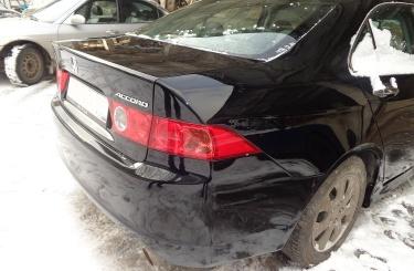 Кузовной ремонт Honda Accord в Омске