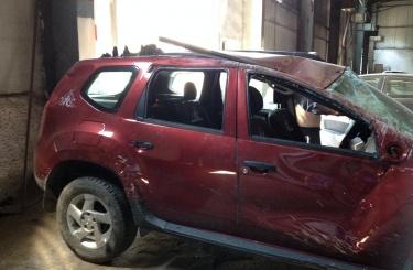 Кузовной ремонт Renault Duster в Омске